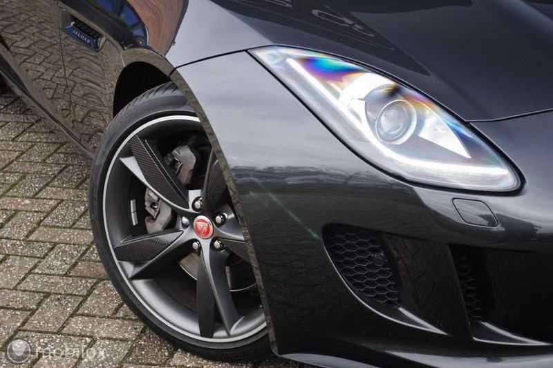 Jaguar F-Type 3.0 V6 Convertible   398 Pk, 500 Nm   Leder   afbeelding 3