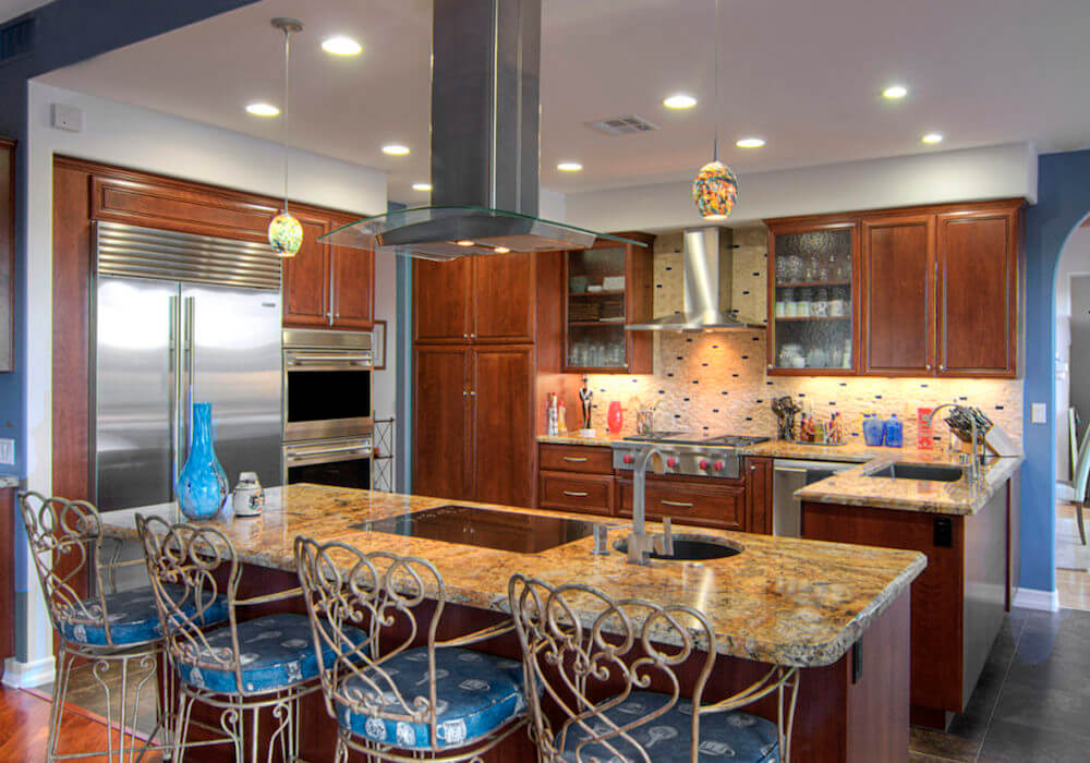 image of custom kitchen remodel in Rancho Santa Fe