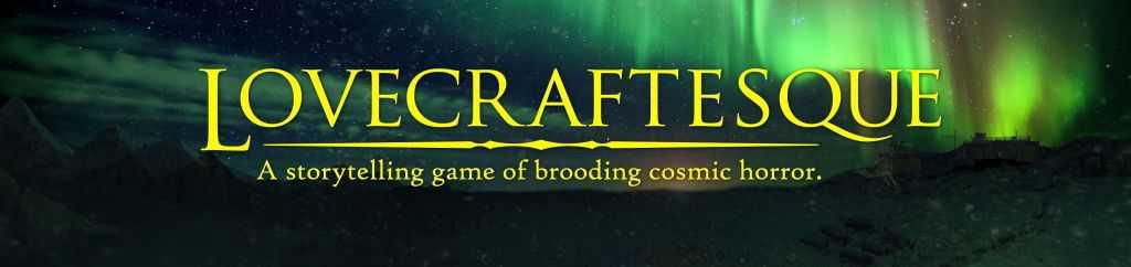Ausschnitt des Covers von Lovecraftesque