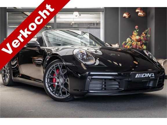 Porsche 911 992 4S Cabrio Sport Chrono Sport Uitlaat 3.0 Carrera 4S