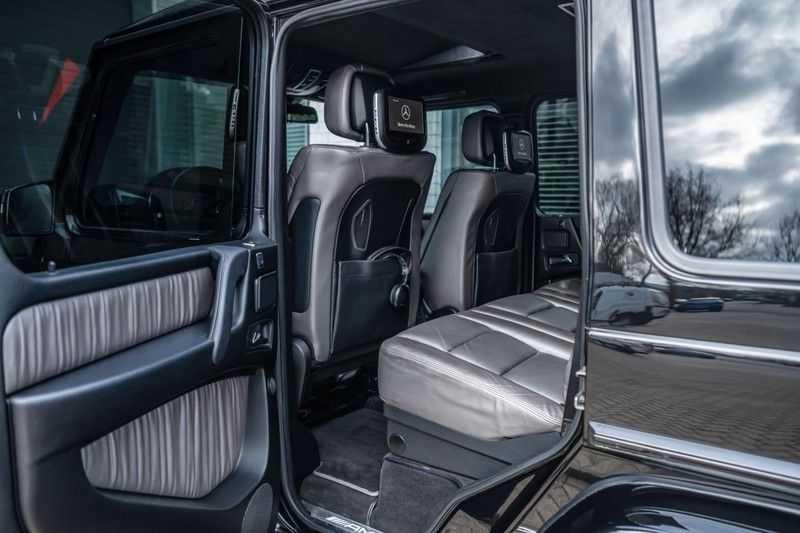 Mercedes-Benz G-Klasse 63 AMG, 571 PK, Full/Black Optiek, Schuif/-Kanteldak, TV, Harman/Kardon, Designo leder, Distronic, 57DKM!!! afbeelding 23