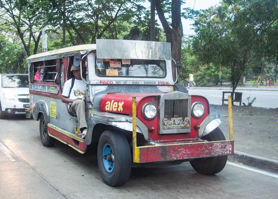 Jeepney in Manila.