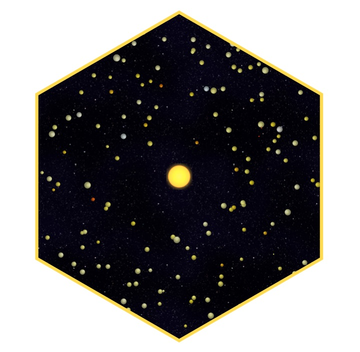 The hexagon that was on the intro slide for the data based gradient section