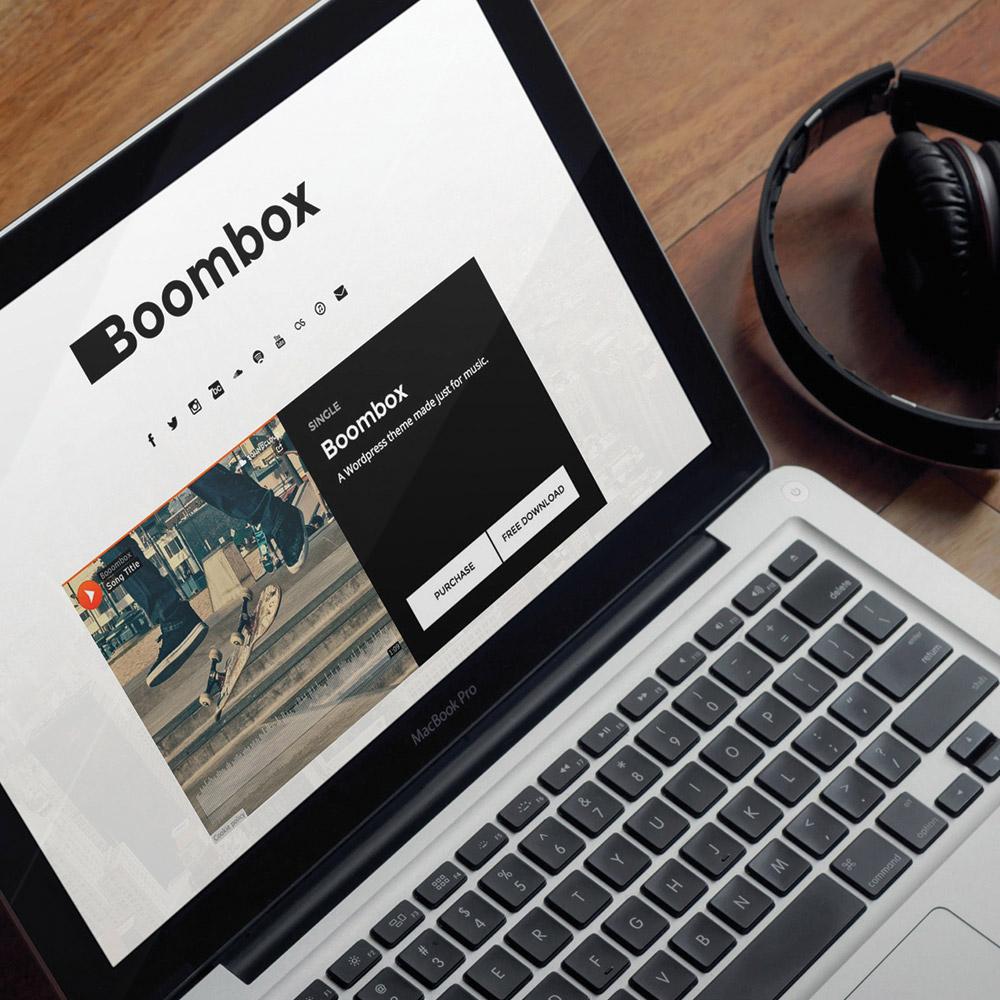 Boombox Wordpress Theme