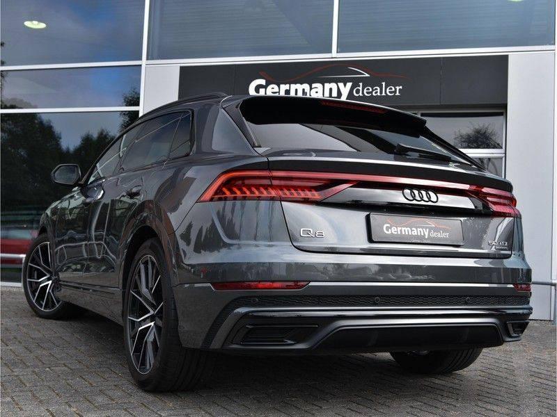 Audi Q8 50TDI 286pk Quattro S-Line Black Optic Lucht RS-Zetels B&O Pano Leder-Dash 22-Inch Soft-Close! afbeelding 13