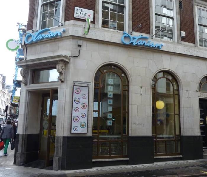 Otarian vegetarian restaurant London