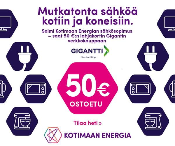 Kotimaan Energia tarjous