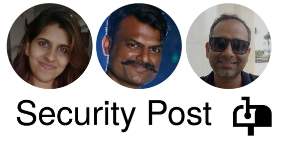 Security Post Trio - Neelu, Amol and Akash