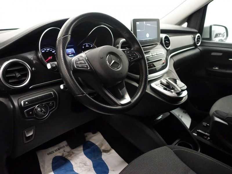 Mercedes-Benz V-Klasse 220 CDI Lang Dubbel Cabine 5/6 Pers Amg Style Autom- Navi, Camera, Xenon afbeelding 12
