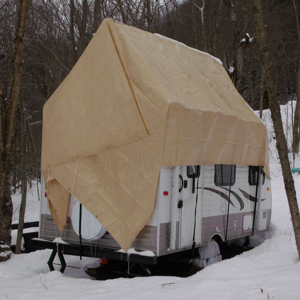 Navigloo Winter Cover for 14-17 foot trailers