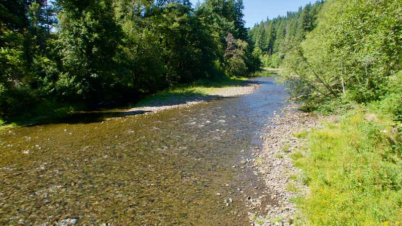 The shallow Wind River