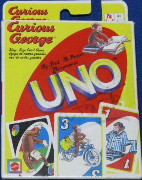 Curious George My First Uno