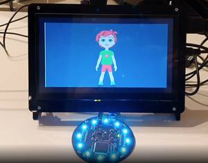 A voice-controlled avatar, powered by Rasa and Raspberry Pi