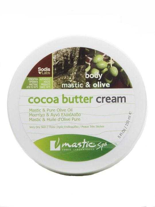 Cocoa olive butter with mastic – 150ml
