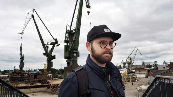 Me in Gdańsk city, Poland