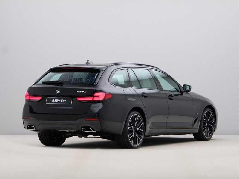 BMW 5 Serie Touring 530d High Exe M-Sport Face-lift ! afbeelding 7