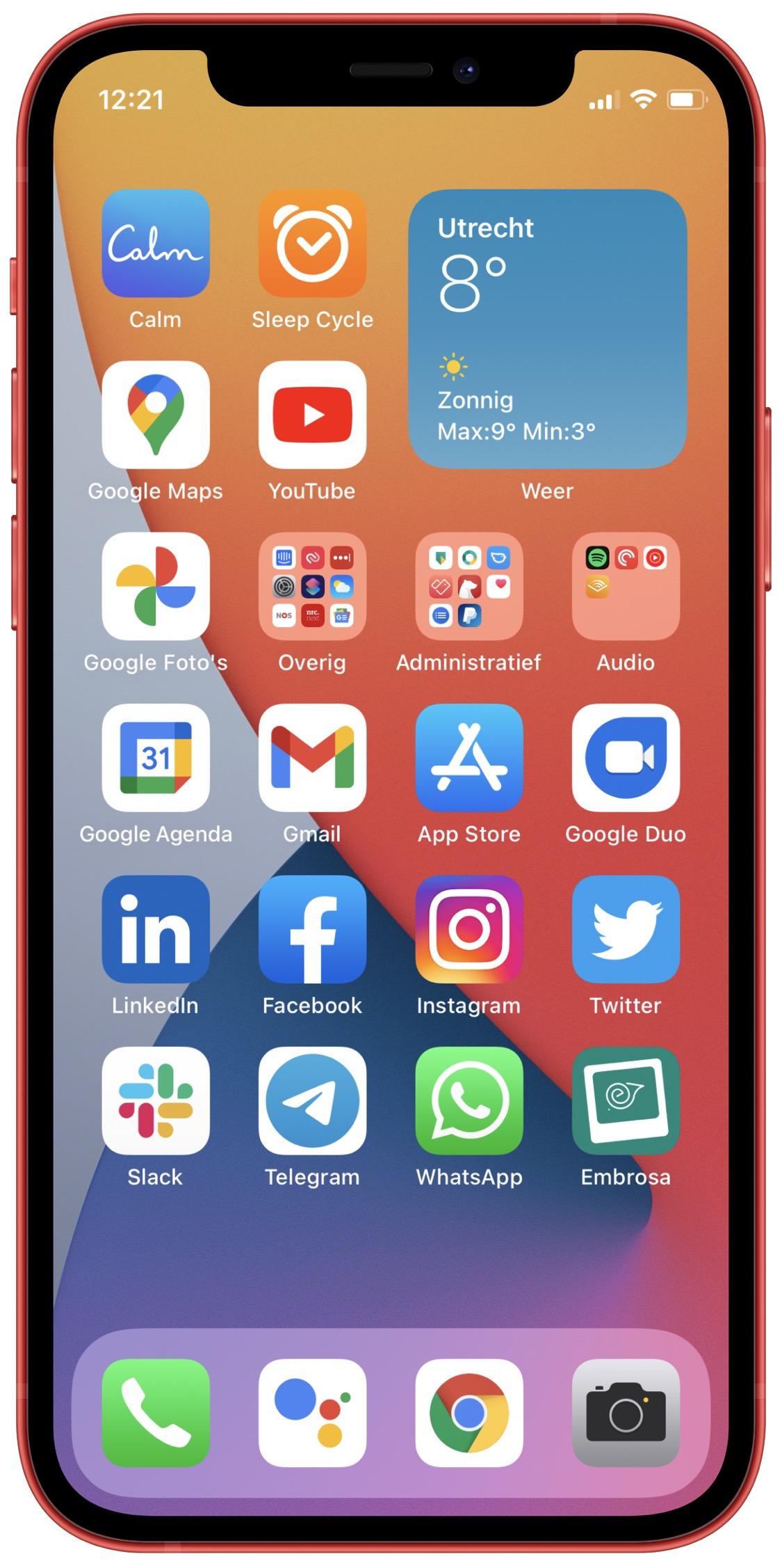 iPhone van Rogier
