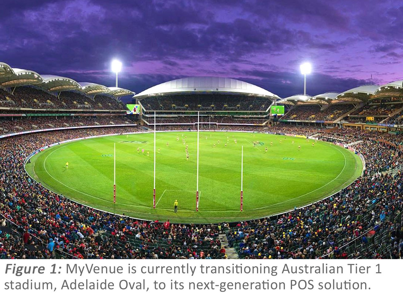 Adelaide Oval with footnote