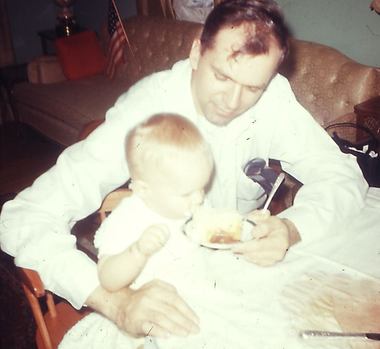 me and my dad on an early birthday