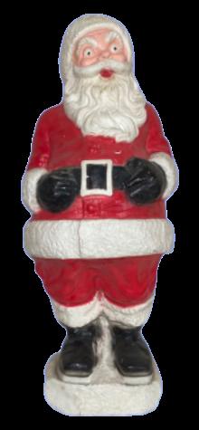 Jolly Giant Santa photo