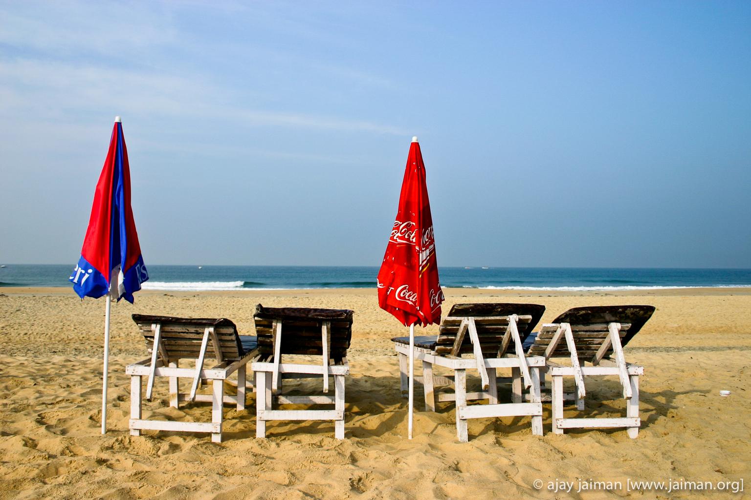 Varca Beach at Goa, India