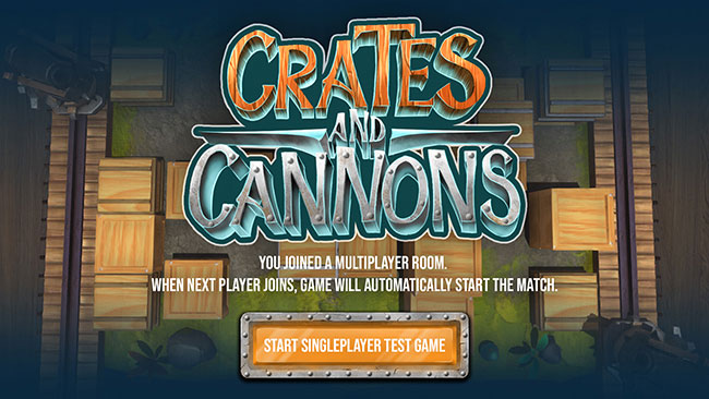 Crates and Cannons Screen