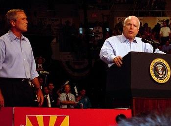 Bush McCain 2004