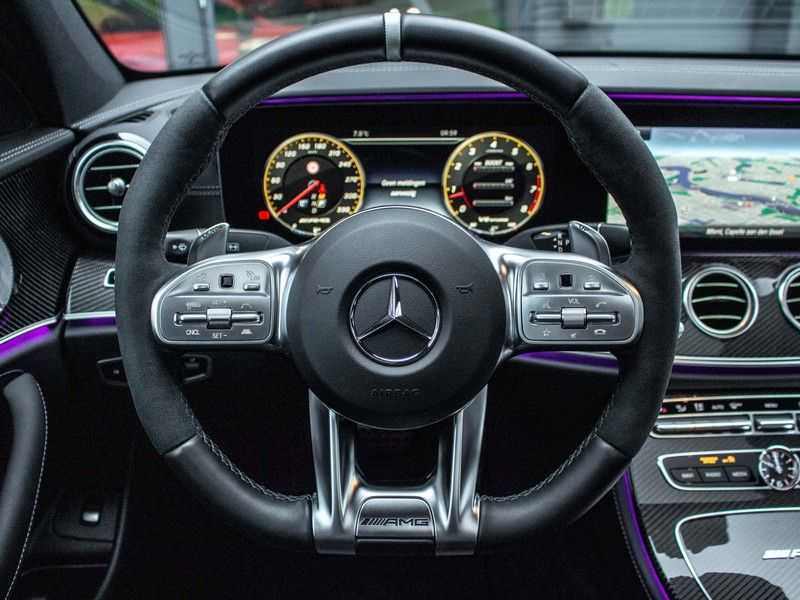 Mercedes-Benz E63 S E-klasse Burmester AMG-Performance-stoelen 63 S AMG 4Matic Premium Plus afbeelding 12