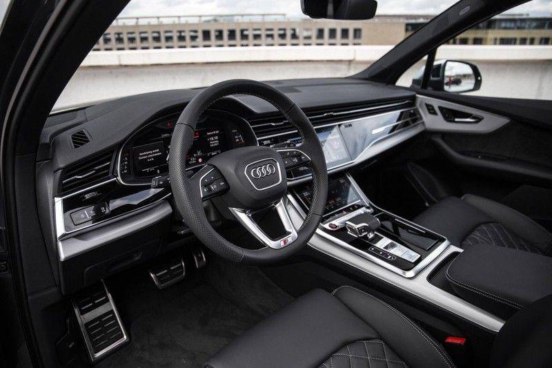 Audi SQ7 4.0 TFSI SQ7 quattro 7p 507PK | S-Line | Pano.Dak | 360 Camera | B&O Sound | Keyless-Entry | S-Sportstoelen | Assistentie Tour-City-Parking | 7 Persoons afbeelding 5