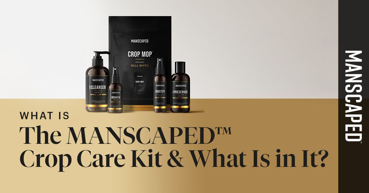 What Is the MANSCAPED™ Crop Care Kit & What Is in It?