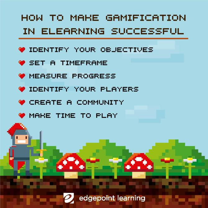 How To Make Gamification in eLearning Successful