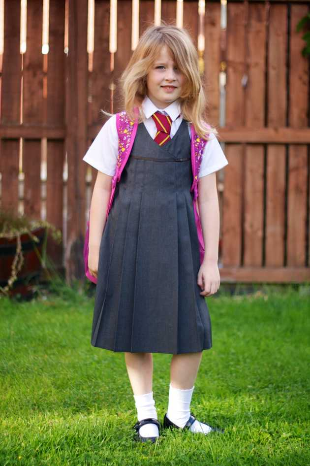Anna first day of Primary 3