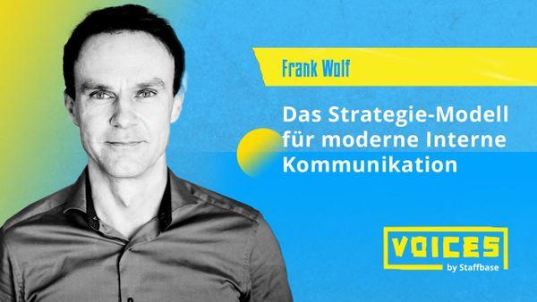 Frank Wolf: Wie ist der Reifegrad Ihrer IK eigentlich?