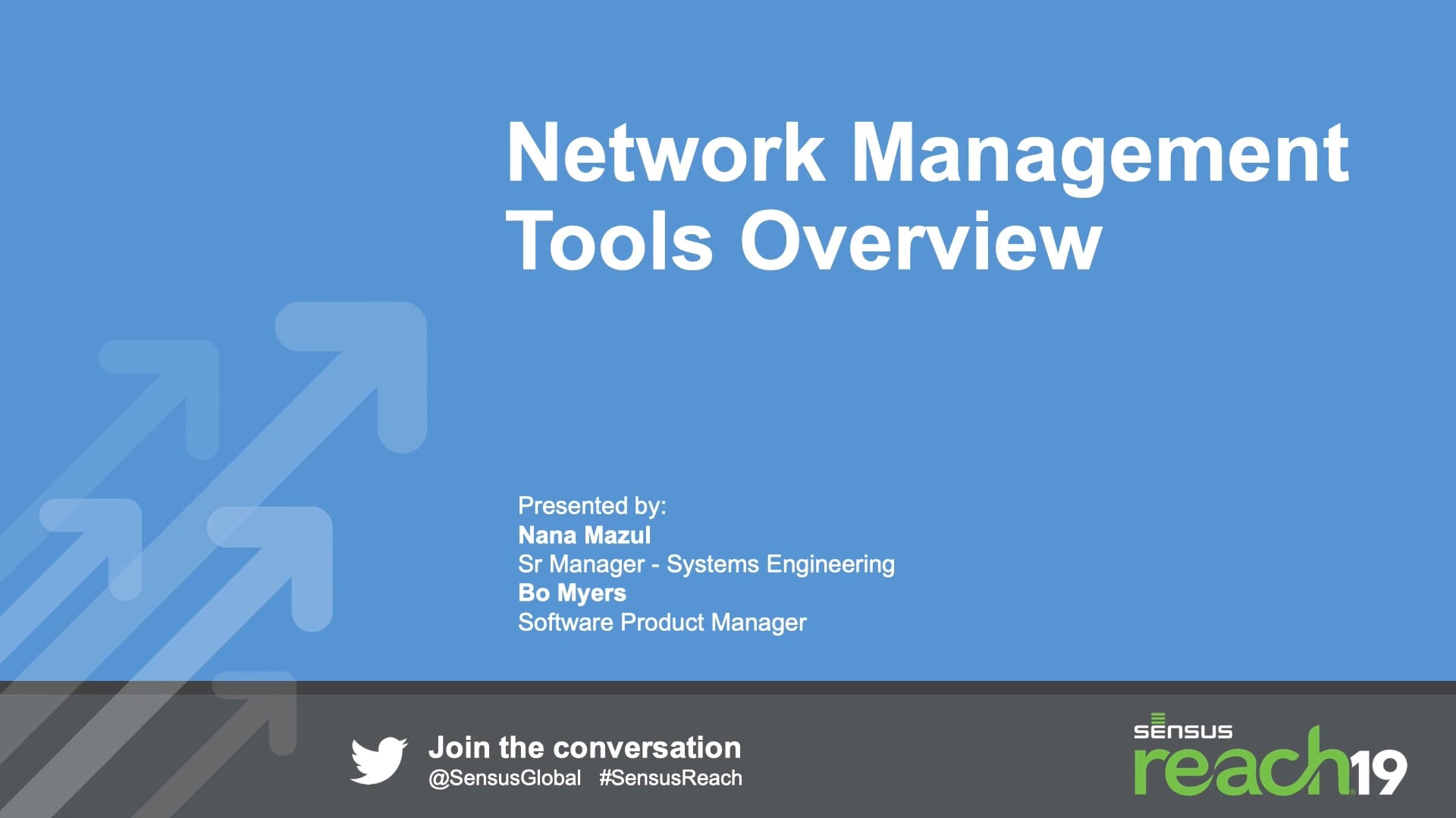 Network Management Tools Overview