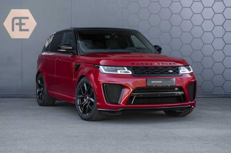 Land Rover Range Rover Sport SVR 5.0 V8 SC Meridian Reference Audio + Head Up + 360 Camera + Gekoelde/Verwarmde voorstoelen + Verwarmde  Achterbank + Carbon Motorkap Met Luchthappers + Ambianceverlichting afbeelding 9
