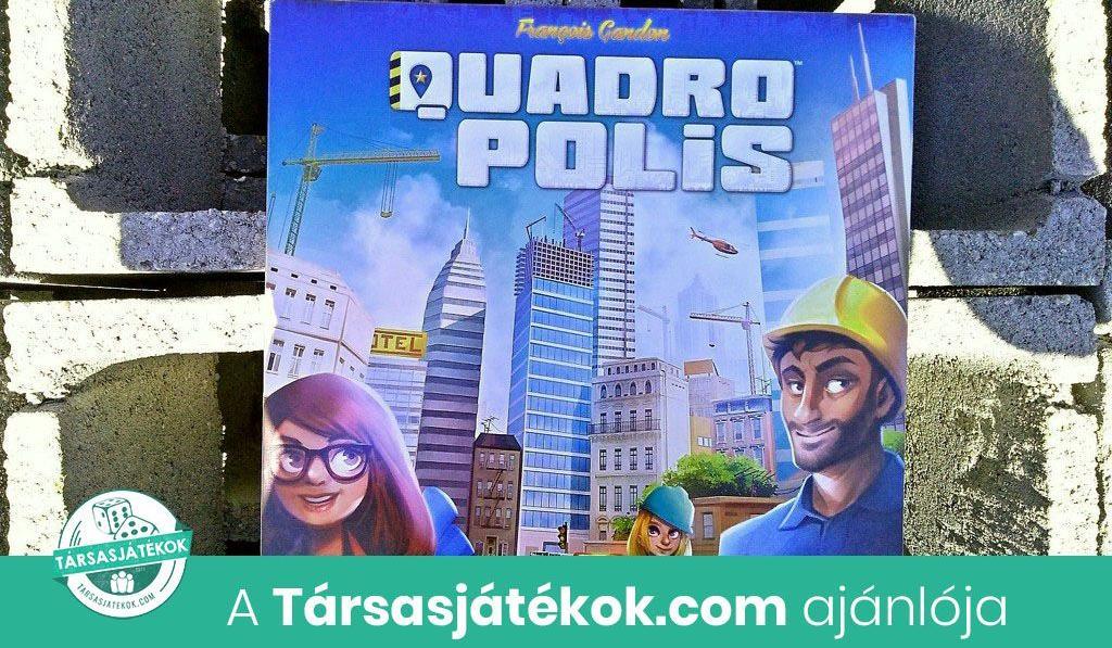 Urbanista Pista és a kockás papír – Quadropolis játékbemutató