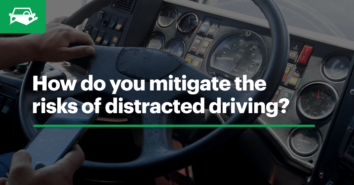 Distracted driving visual