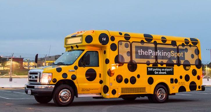 The parking spot bus