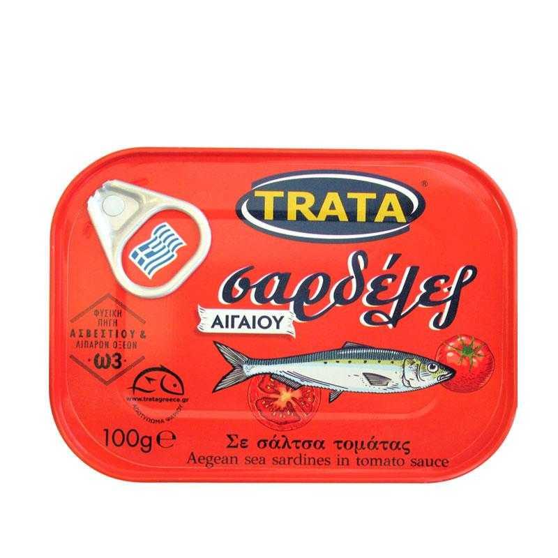 Sardines à la sauce tomate - 100g