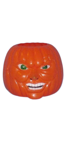 "BOLS ""Pumpkin Smash"" Promotional Candy Container photo"