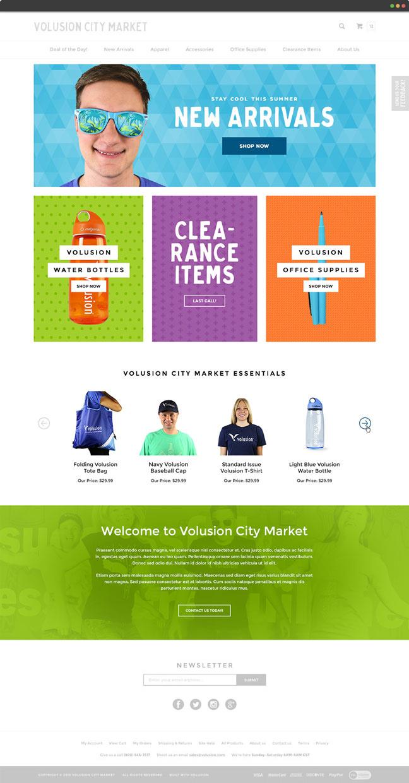 Responsive Homepage Design