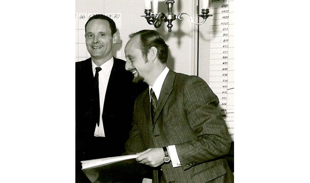 Carl-Wilhelm Edding and Volker Detlef Ledermann