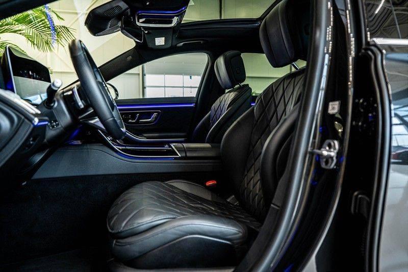 Mercedes-Benz S-Klasse 400d 4Matic Lang AMG | 3D Display | Augmented Head-Up Display | Burmester 3D | Pano | Memory afbeelding 14