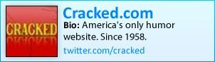 Cracked on Twitter