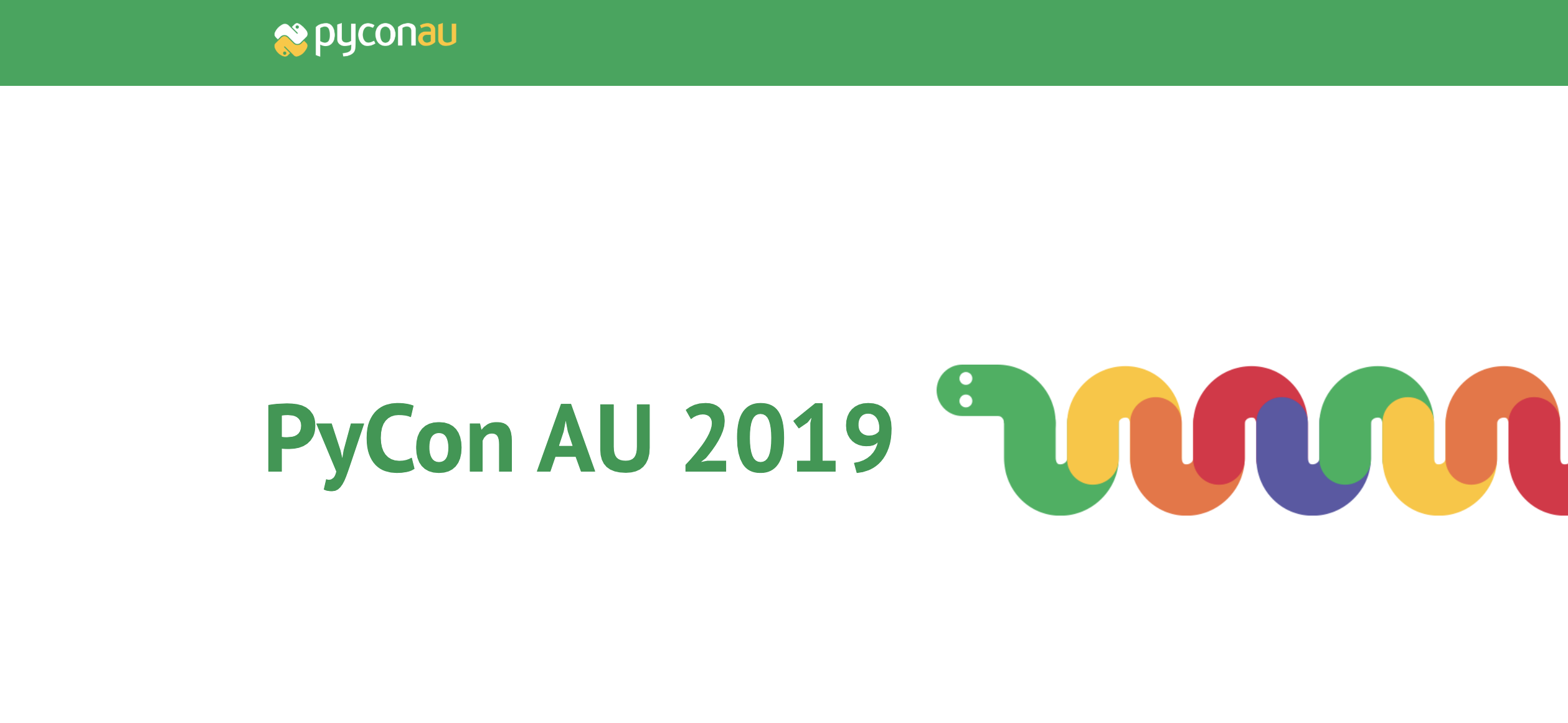 PyCon Australia 2019