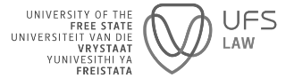 The University of the Free State logo