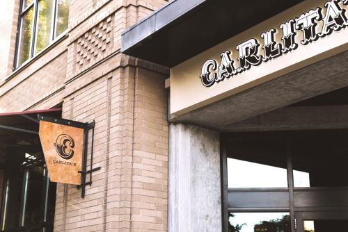 Carlita's restaurant branding