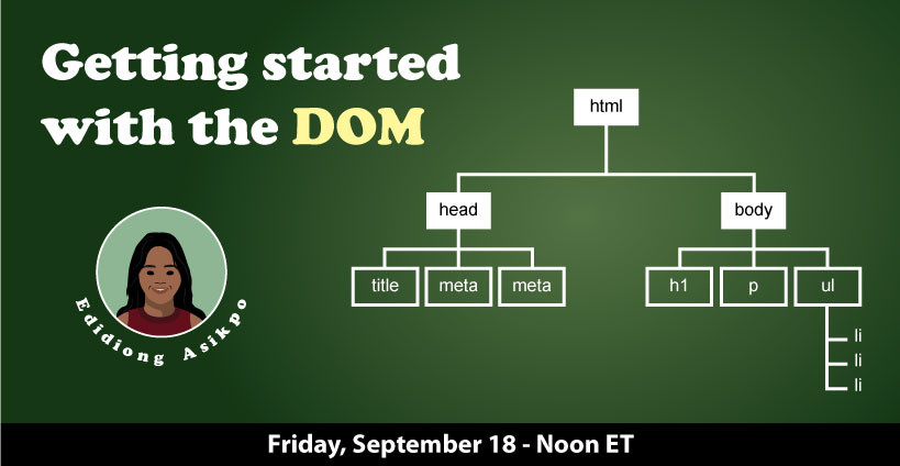 Banner for Getting Started with the DOM