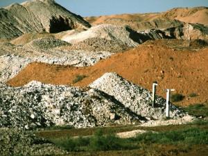 Mineral Deposits in Andamooka