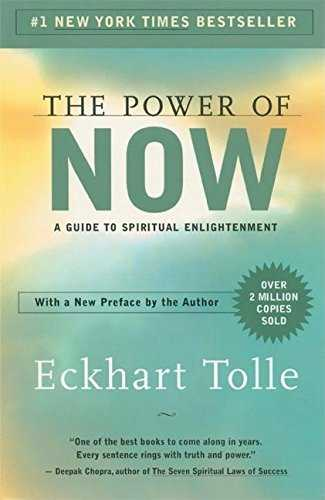 The Power of Now: A Guide to Spiritual Enlightenment Cover